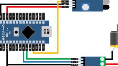 Arduino,プラレール,ATC