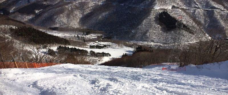 水上,赤沢,スキー場,空いてる