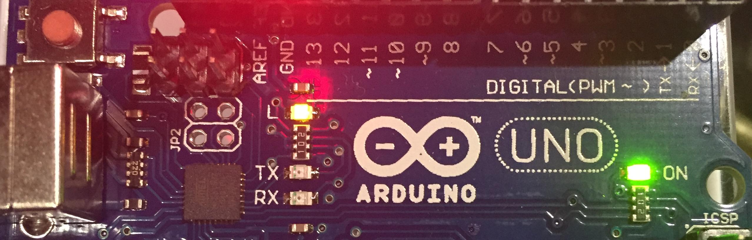 Arduino,倅と一緒にArduino
